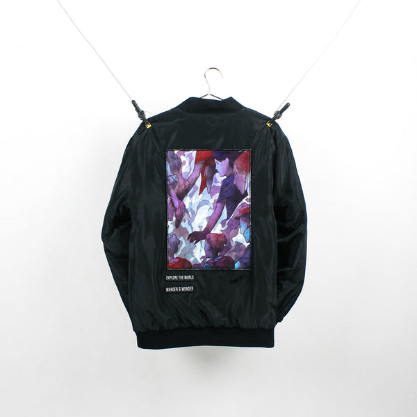 """The Explorer"" Black Bomber"
