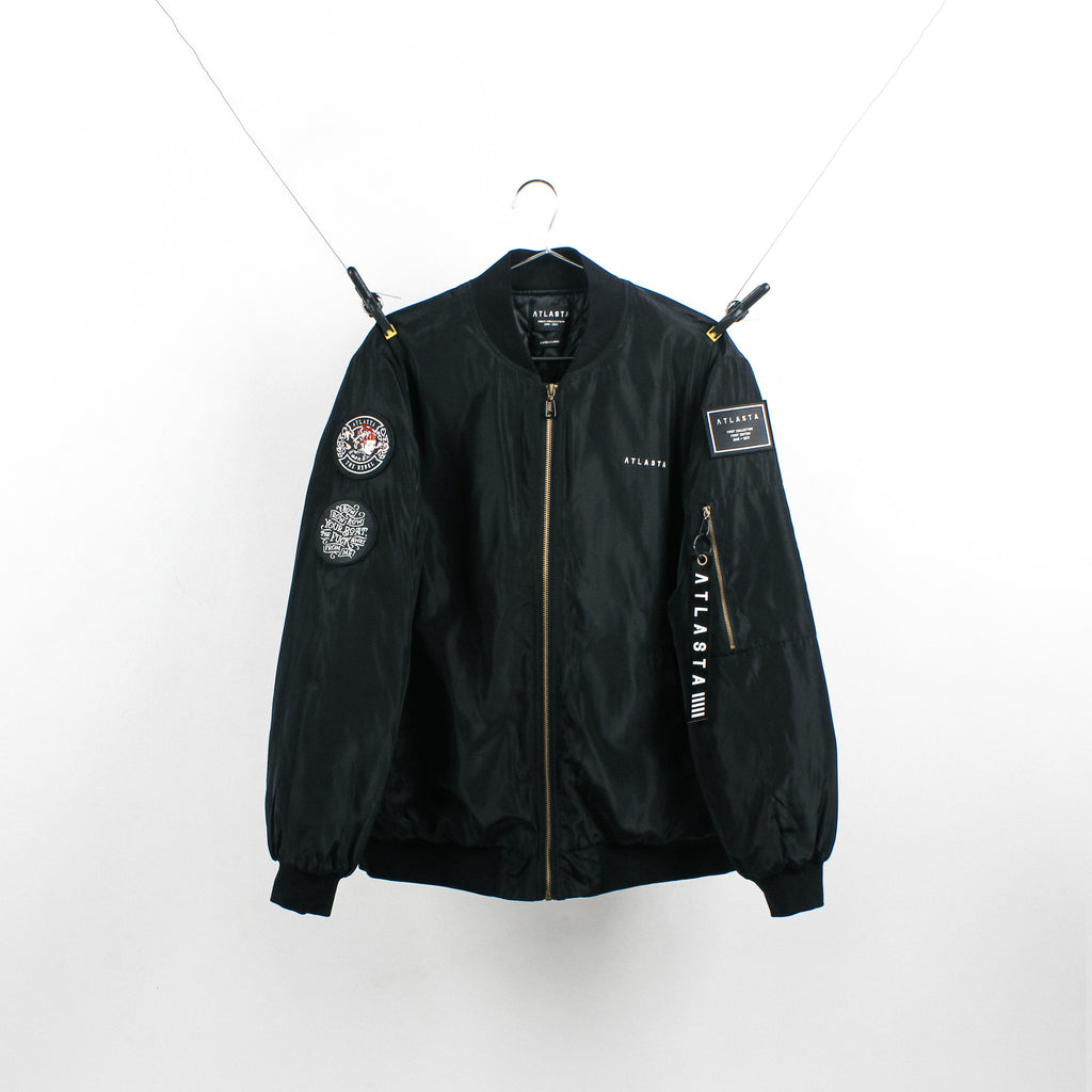 """The Rebel"" Black Bomber"
