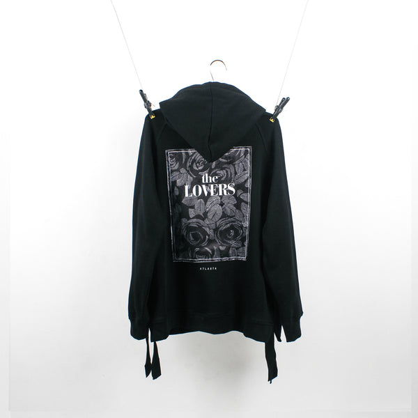 """The Lovers"" Black Hoodie"