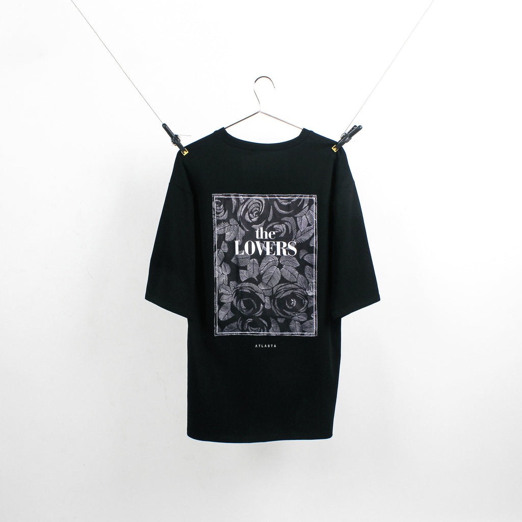 """The Lovers"" Black T-Shirt"