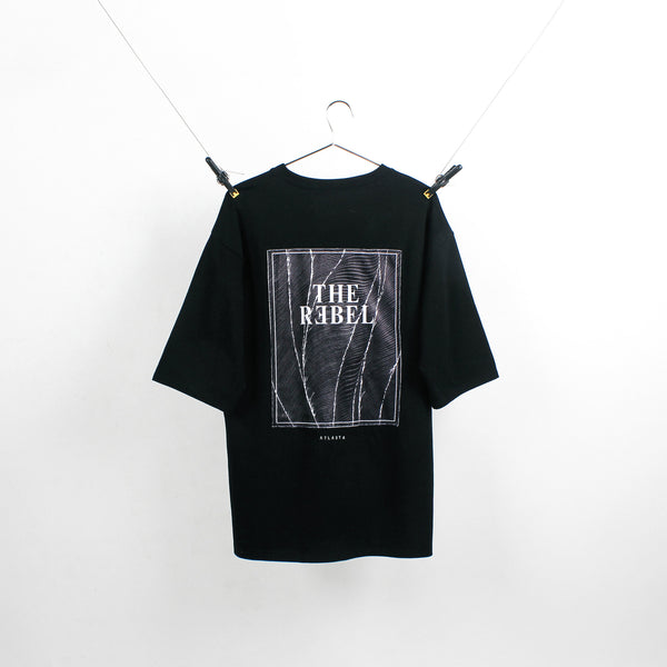 """The Rebel"" Black T-Shirt"