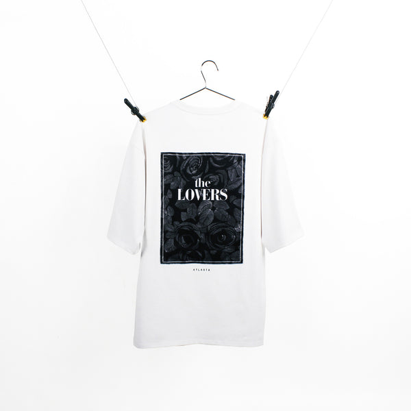 """The Lovers"" White T-Shirt"