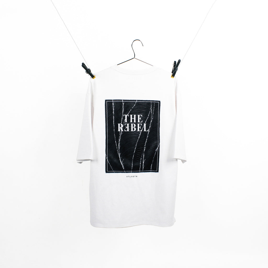 """The Rebel"" White T-Shirt"