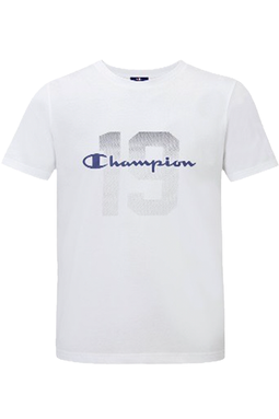 Champion Tee Athletic White