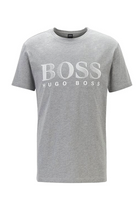 Hugo Boss RN Logo Tee Light Grey