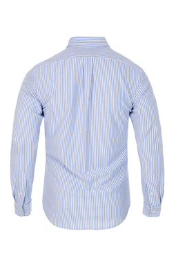 Ralph Lauren Custom Shirt Azure White