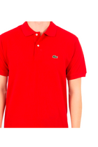 Lacoste Classic Chine S/S Polo Piké Red
