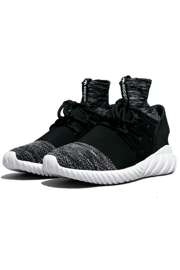 Image of   adidas Originals Tubular Doom PrimeKnit Black - 42 2/3