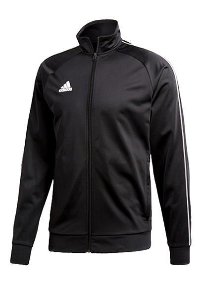 Image of   Adidas Zip Jersey Black - XS