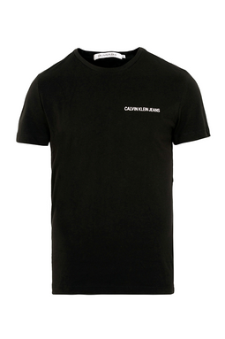 Calvin Klein Institutional S/S Chest Tee Black