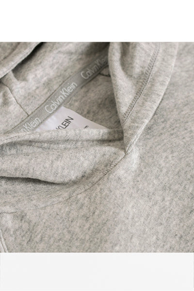 Calvin Klein Stretch Hoodie Grey Heather