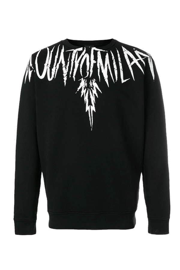 Image of   Marcelo Burlon County Wing Sweatshirt Black - L