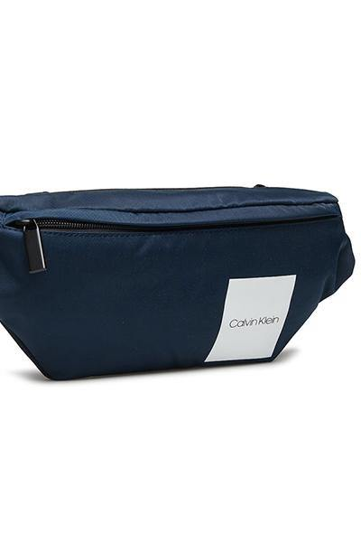 Calvin Klein Women Monogram Waist Bag Navy