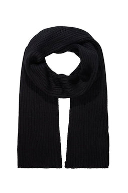 Pierre Cardin Knitted Scarf Black