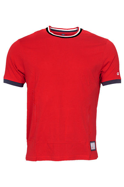 champion Champion baseball tee red - s fra luxivo.dk