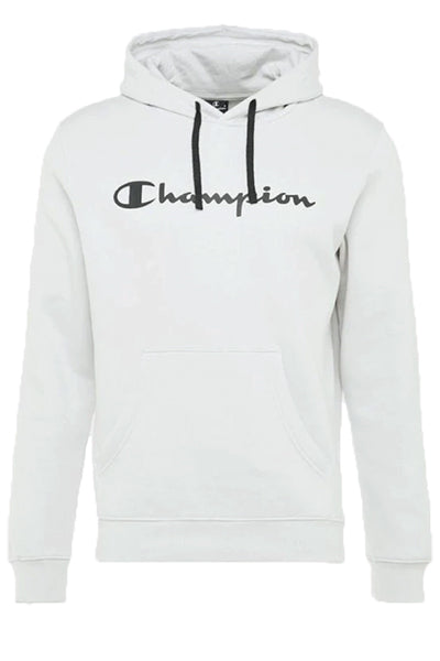 Champion logo hoodie white - m fra champion fra luxivo.dk