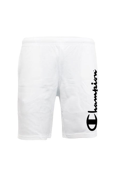 champion – Champion shorts big logo white - m på luxivo.dk