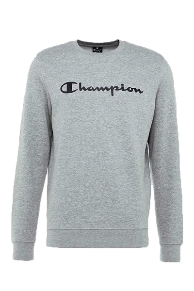 Champion new logo sweatshirt grey - xl fra champion fra luxivo.dk