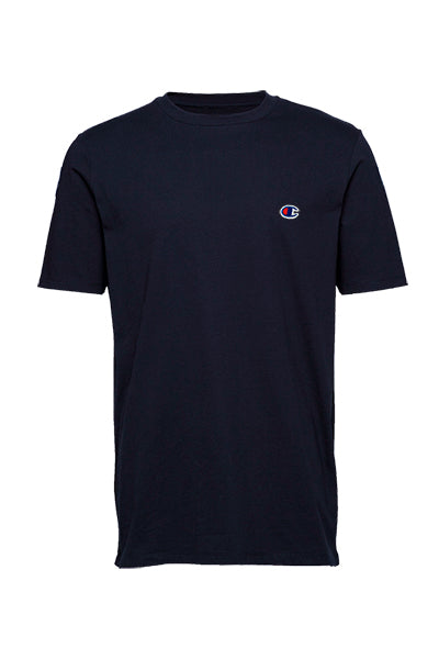 champion – Champion chest logo tee navy - m på luxivo.dk