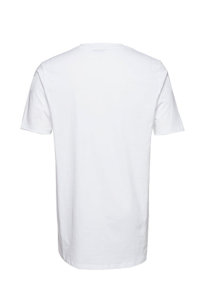 Champion Chest Logo Tee White