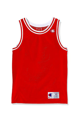 Champion Logo Tank Red