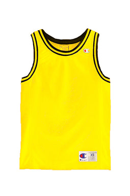 Champion Logo Tank Yellow