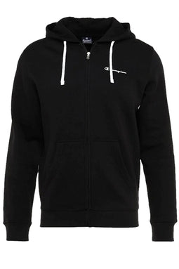 Champion Full Zip Hoodie Black