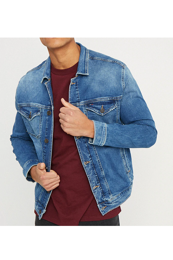 Tommy Jeans Regular Denim Trucker Jacket