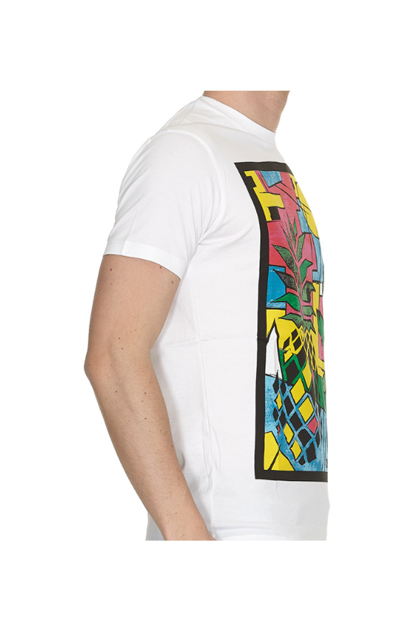 Dsquared2 Pineapple Tee White
