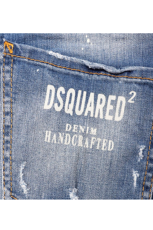 Dsquared2 Printed COOL GUY Denim Jeans