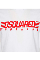 Dsquared2 Brothers Tee White