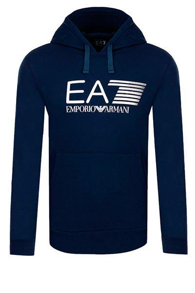 Image of   Armani EA7 Hoodie Dark Blue - XL