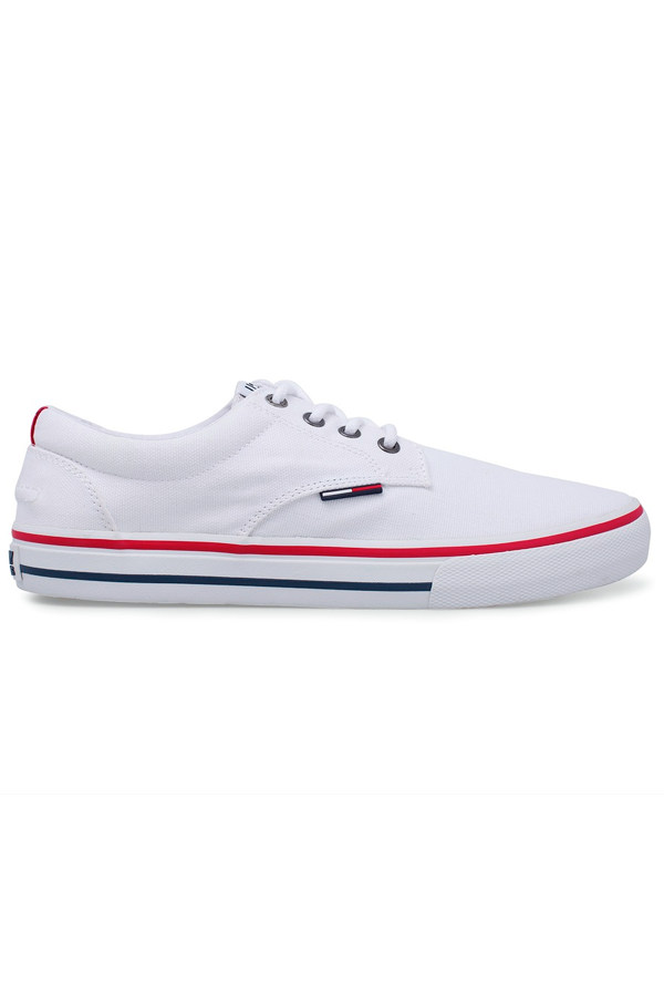 Tommy Hilfiger Canvas Sneaker White