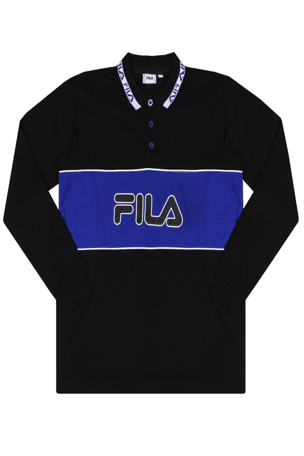 FILA Umed L/S Polo Black