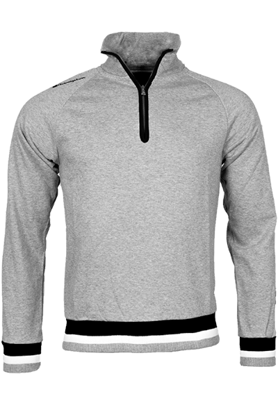 champion Champion zip sweatshirt grey - xl på luxivo.dk