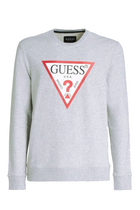 GUESS Original Logo Sweatshirt Grey