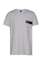 Hugo Boss RN Box Logo Tee Grey