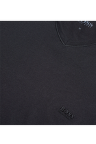 Hugo Boss V-Neck Logo Tee Black