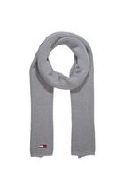 Tommy Jeans Knit Scarf Grey
