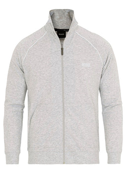Hugo Boss Full Zip Cotton Jacket Grey