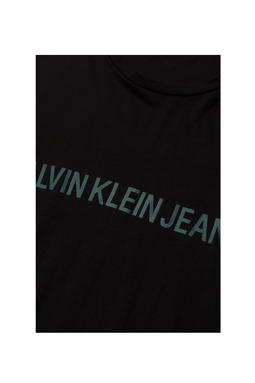 Calvin Klein Institutional S/S Logo Tee Black