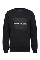 Calvin Klein Institutional Rubberbox Sweatshirt Black