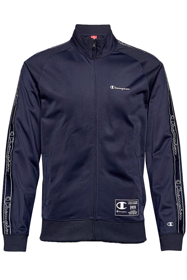 Champion New Logo Track Jacket Navy