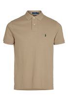 Ralph Lauren Custom Slim Fit Polo Khaki