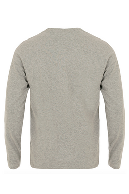 Ralph Lauren L/S Crew Tee Grey Heather