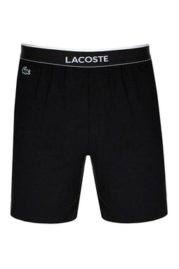 Lacoste Cotton Shorts Black