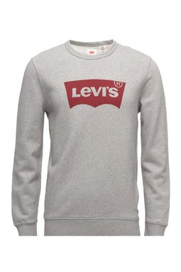 Levi's Crew Neck Logo Sweatshirt Grey