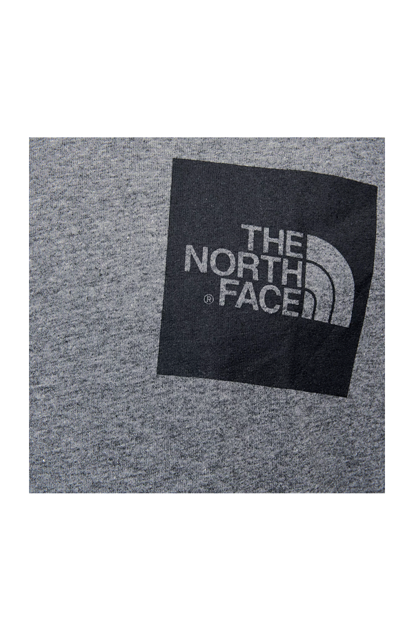 The North Face S/S Fine Tee Grey Heather
