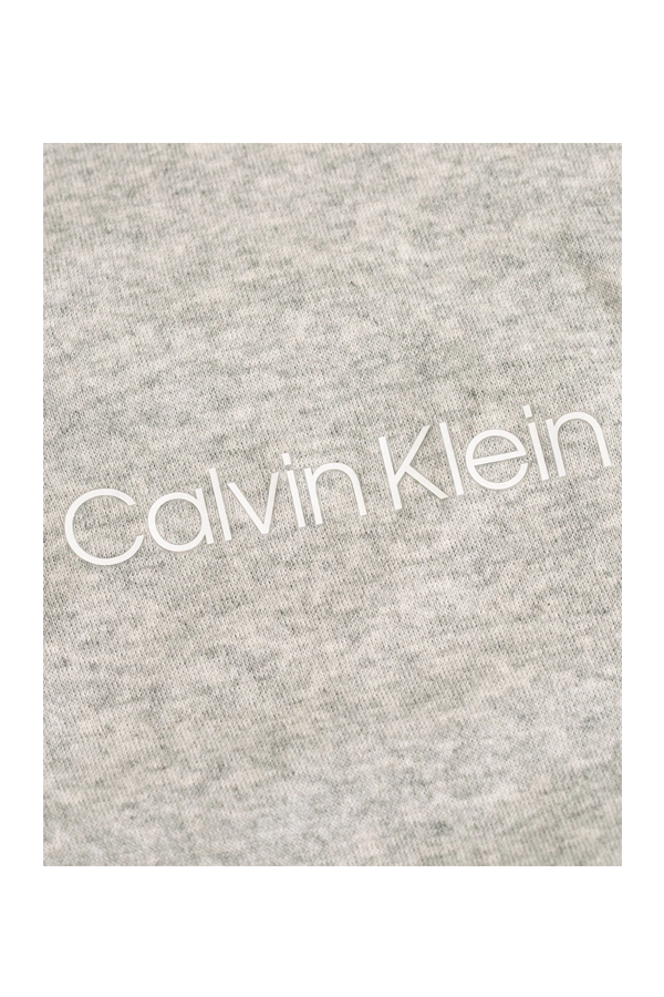 Calvin Klein Full Zip Hoodie Grey Heather