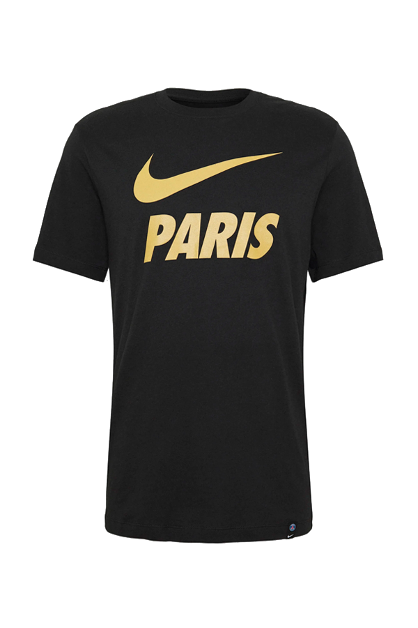 Nike Paris Logo Tee Black